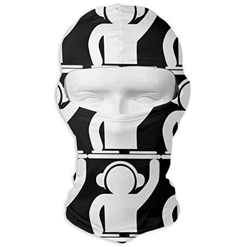 (Jxrodekz DJ-Plattenspieler-Musik-Antistaub-Gesichtsmasken für Männer-Frauen-im Freiensport)
