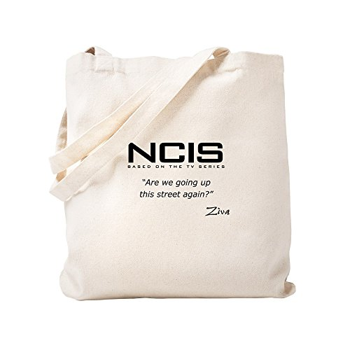 CafePress NCIS 855 David Up The Street Tragetasche, canvas, khaki, S