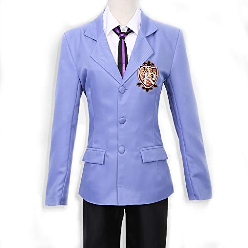 Lilongjiao Ouran High School Host Club Boy Uniform Blazer Cosplay Kostüm (Size : XL)