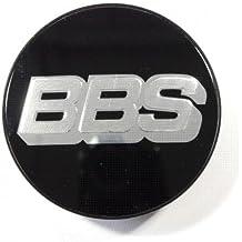 BBS Símbolo Disco de Plata Negro 70,6 mm nabenabdeckung/Buje Tapa