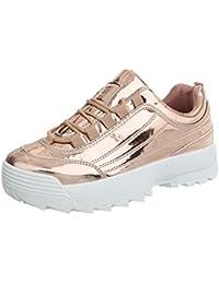 Suchergebnis auf für: Plateau Sneaker Gold