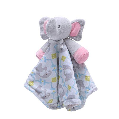 Skyoo - Toalla para bebé, diseño de elefantes