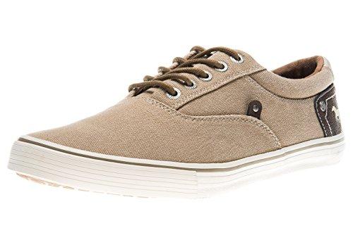 Mustang Shoes Sneaker in Übergrößen Sand 4101-301-44 Große Herrenschuhe, Größe:48