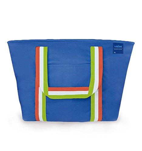 Valira Playa - Bolsa térmica 16 L, color azul