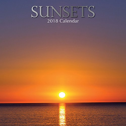 Sunsets 2018 Square Calendar