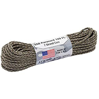 Atwood Rope 550 Paracord 4 mm - 30 m, Multicam