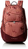The North Face Unisex Wise Guy Backpack, Light Mahogany Geo Naturale Print/Regal Red, One Size