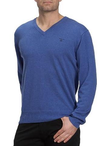 GANT - 83072 - Pull-over - homme - Bleu (Blue Melange) - Taille XL (DE: 54)