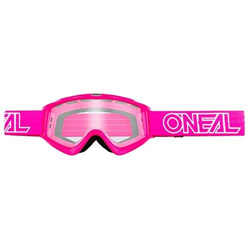 O'Neal B-Zero Goggle Moto Cross MX Brille Downhill DH Enduro Motorrad, 6030-11, Farbe Pink