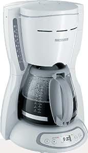 Severin 4030 Cafetière Filtre Programmable 1000W 1,4L Blanc Gris