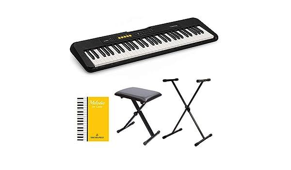 panchetta e fantastico libro Melodie per Casio leggio incluso con tastiera stand CASIO CT-S100 Tastiera elettronica 61 tasti