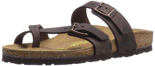 Birkenstock Womens Mayari Brown Synthetic Sandals 41 EU Lady Open Toe Strappy Sandal