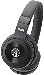 Audio Technica ATH WS99BT Solid Bass Bluetooth Wireless Over Ear Headphones with Built In Mic   Control