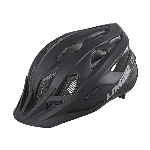 Limar Fahrradhelm 545 Gr.L 57-62cm schwarz matt ca. 310g Fahrrad