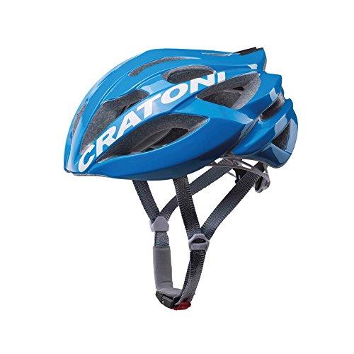 Cratoni Rennradhelm C-Bolt blau-weiss Gr. L/XL Fahrradhelm