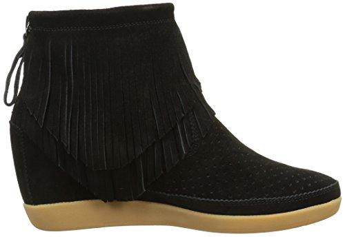 Shoe the Bear Emmy Fringes, Baskets Basses Femme Noir (Black)