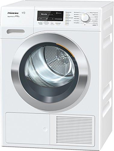 Miele TKG 850 WP Wärmepumpentrockner / Energieklasse A+++ (169kWh/Jahr) / 8kg Schontrommel / Dampffunktion zum Vorbügeln der Wäsche / Duftflakon für frisch duftende Wäsche /Startvorwahl /Knitterschutz