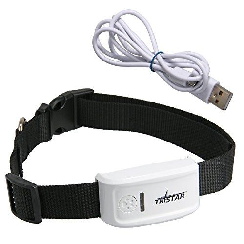 TKSTAR Tracker Seguimiento GPS GSM / GPRS / GPS Tracking Tool Largo Tiempo Espera para los Animales Domésticos del Gato Perro PS013