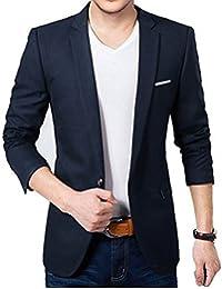 BELARIO Men Fashion Mens Navy Blue Casual Blazer (36)