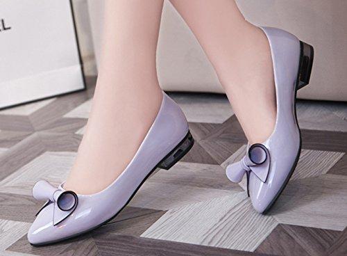 XTIAN , chaussons d'intérieur femme Violet