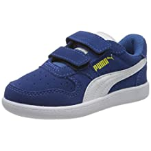 PUMA Kids' Icra Trainer SD V PS Low-Top Sneakers, Blue (Bright Cobalt White/Meadowlark 31), 2.5 UK 35 EU