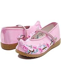 Amazon.es  Rosa - Merceditas   Zapatos para niña  Zapatos y complementos 4111638ef0951