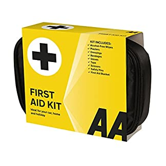 AA Standard First Aid Kit - AA0095 - Family Essential For Car Home Holidays Travel Camping Caravans Office 13