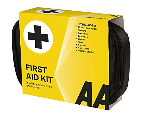 AA Soft Pouch First Aid Kit – Black