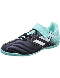 adidas Ace 17.4 In J H&L, Zapatillas de fútbol Sala Unisex niños, (Aquene/Ftwbla/Tinley), 38 EU