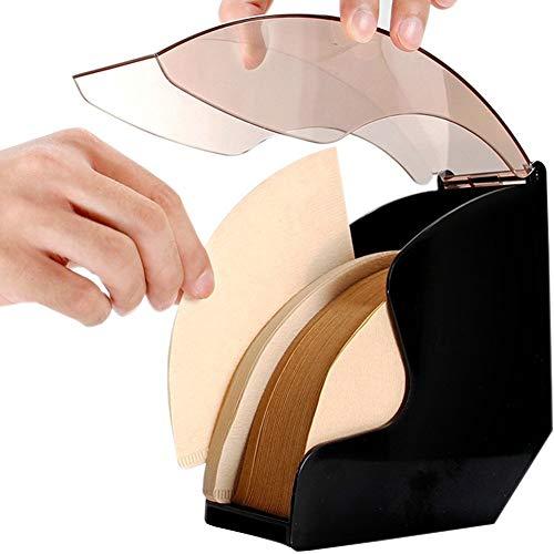 Da Jia Inc Acryl Filtertütenhalter Kaffeefilter Halter Halterung für Filtertüten ohne Kaffee...