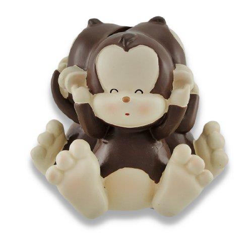 Preisvergleich Produktbild Baby Monkey See, Speak, Hear No Evil Coin Bank 4.5 In.