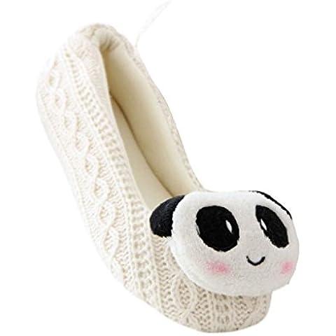 Vovotrade® Signore delle donne Panda Coniglio Femminile cashmer Yoga caldo Scarpe