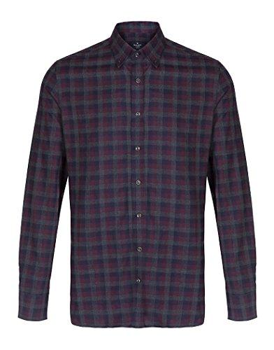 hackett-textured-melange-shirt-2x-large
