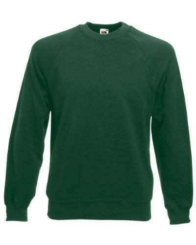 fruit-of-the-loom-herren-sweatshirt-raglan-sweatshirt-lgrun-bottle-green