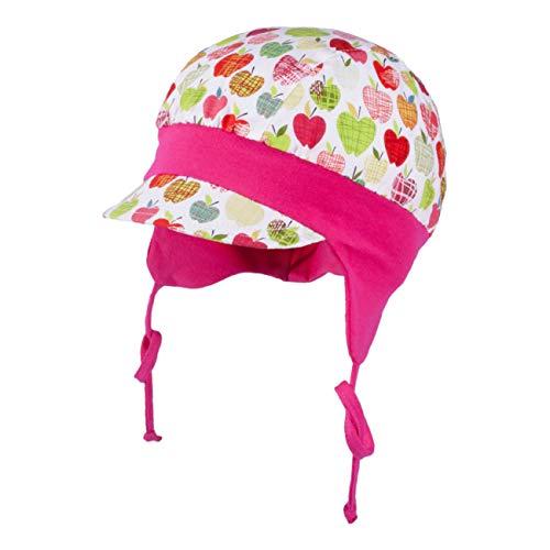 Galeja Tutu Mädchen Mütze Babymütze pink 40-42 Bindemütze UV-Schutz 50+ Sommermütze Erstlingsmütze