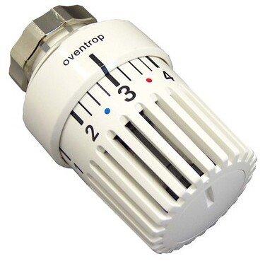 Oventrop Thermostatkopf UniLDVL passend für Danfoss Baureihe RAVL mit Klemmverbindung weiß
