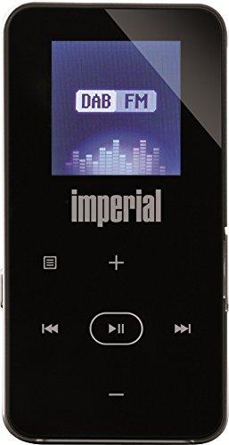 Imperial DABMAN 2 mobiles Digitalradio mit MP3-Player (DAB+/UKW, micro USB, LCD Display, Akku, Bluetooth und FM Transmitterfunktion) schwarz