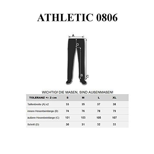 BOLF Herren Jeanshose Sporthose Slim Fit Casual Clubwear Denim Army 6F6 Motiv Schwarz