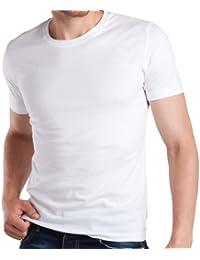 3er Pack Slim Fit T-Shirt - Herren Body Fit T-Shirt - 3 Farben wählbar - 100% supergekämmte Baumwolle in Premium Qualität - Highest Standard - original CELODORO Exclusive