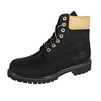 Timberland 6-Inch Premium Waterproof Boot A1471 Black Gold Reflective, Schuhe Herren:44.5