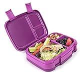 Bentgo Fresh - Auslaufsichere Lunchbox | Bento Box mit 4 Unterteilungen, Lila