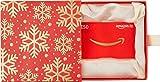 Amazon.de Geschenkkarte in Geschenkbox - 50 EUR (Premium Rot und Gold)