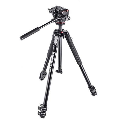 Buy Manfrotto 190X Aluminium 3 Section Tripod with XPRO Fluid Head on Line
