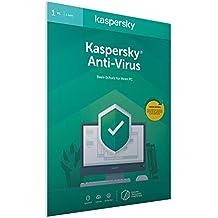 Kaspersky Anti-Virus 2020 Standard | 1 Gerät | 1 Jahr | Windows | Aktivierungscode in frustfreier Verpackung