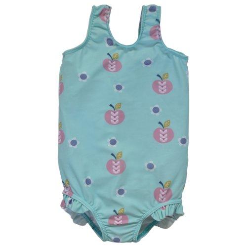 Splash About Mädchen Badeanzug, Apfel Daisy, 4-6 Jahre, (Für Baby Kostüme Daisy)