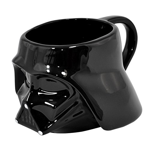Star Wars 25205 - Darth Vader 3d Keramiktasse in Geschenkpackung, 8 x 10 cm (Star Wars Darth Vader Becher)