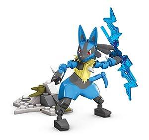 Mattel - Mega Construx Pokemon figura Lucario juguete niños + 6 años ( GFV71)