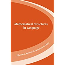 Mathematical Structures in Languages (Lecture Notes)