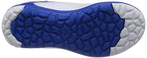 adidas , Mädchen Fußballschuhe Weiß / Blau / Schwarz