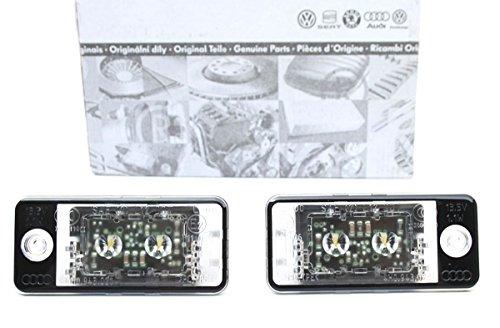 Audi Original LED Kennzeichenleuchten 2er Set 4H0943021 4H0943022